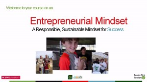 Introductory entrepreneur video