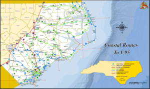 Image of N.C. hurricane evacuation routes
