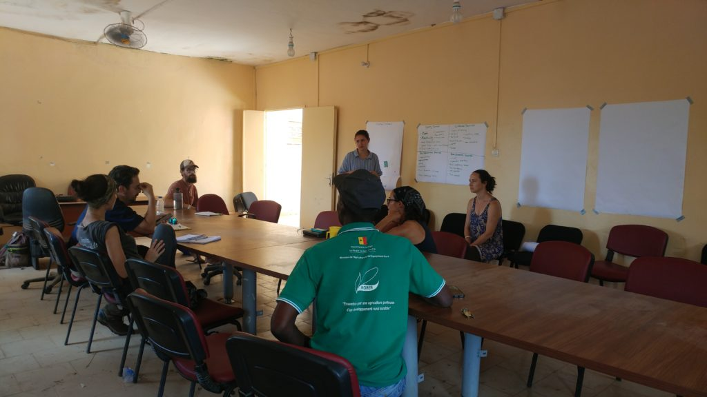 Workshop with local tourism partners