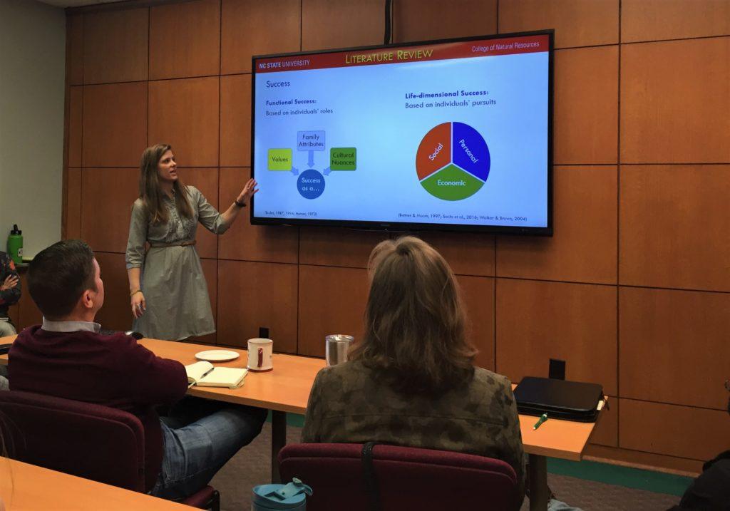 Ann presenting