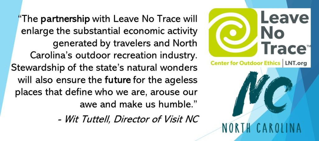 Quote from director of Visit NC